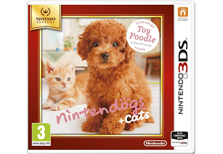 Nintendogs + Cats: Toy Poodle & New Friends (Nintendo Selects) Nintendo 3DS