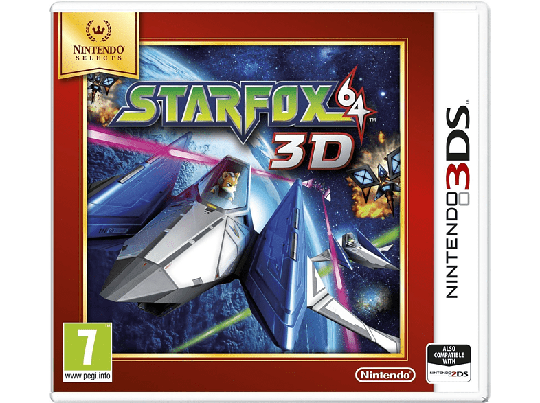 Star Fox 64 3D (Nintendo Selects) Nintendo 3DS gaming games nintendo 2ds  3ds games gaming φορητές κονσόλες games 2ds  3ds