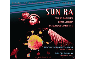 Sun Ra - Beyond the Purple Star Zone/Oblique Parallax [CD]
