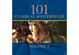 VARIOUS - 101 Classical Masterpieces Vol. 2 - (CD)