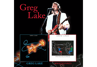 Greg Lake - Greg Lake/Manoeuvres (Remastered+Expanded 2cd) [CD]