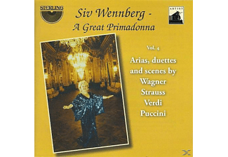 Siv Wennberg - A Great Primadonna Vol.4 - (CD)