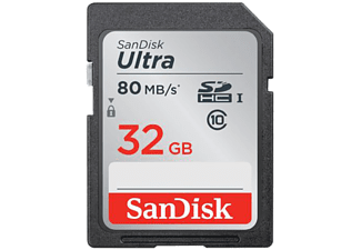 SANDISK ULTRA SDHC 32GB 80MB/S CLASS 10 UHS-I
