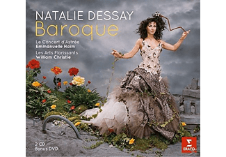 Natalie Dessay, Emanuelle Haim, William Christie - Baroque - (CD + DVD Video)