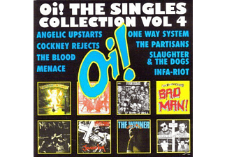 Various - Oi! The Singles Vol.4 - (CD)
