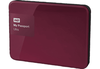 WESTERN DIGITAL My Passport Ultra 1TB Berry - (WDBGPU0010BBY-EESN)