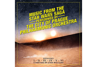 The City Of Prague Philharmonic Orchestra - Music From The Star Wars Saga-Episodes 1-6 [CD]