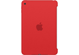 APPLE iPad Mini 4 Silicone Case, piros (mkln2zm/a)