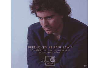 Paul Lewis - Klaviersonaten Vol.3 - (CD)
