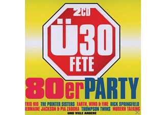 VARIOUS - Ü30 Fete-Die 80er Party - (CD)