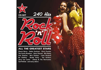 Presley/Berry/Cochran/Sedaka/Haley/+ - Rock'n'roll-All The Greatest Stars-240 Hits - (CD)