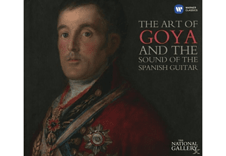 VARIOUS - The art of Goya & the sound of spanish Gui [CD]