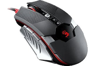 A4 TECH Bloody T50 M.Core 4000 DPI Optik Mouse Gümüş Siyah