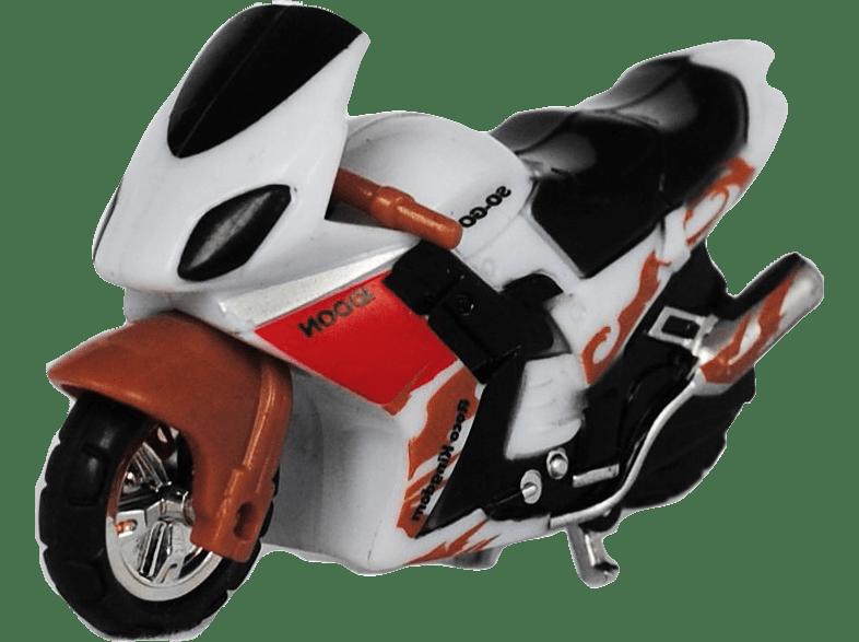 WICKED Μοτοσυκλέτα Micro Riderz Λευκό gaming παιχνίδια παιδικά παιχνίδια