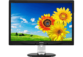 PHILIPS 240P4QPYEB/00 24 inç W LED (DVI+DP+4 x USB+VGA) Full HD IPS LCD Monitör
