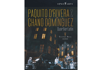 Paquito d'Rivera, Chano Dominguez - QUARTIER LATIN - (DVD)