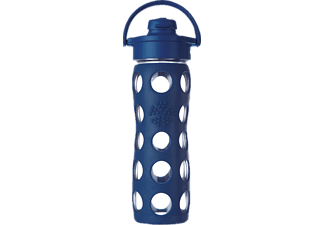 LIFEFACTORY 14915, Trinkflasche, Midnight Blue
