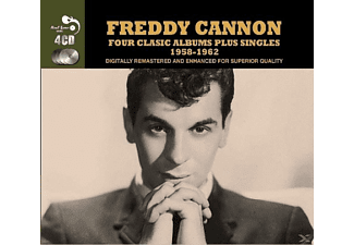 Freddy Cannon - 4 Classic Albums Plus Singles 1958-1962 - (CD)