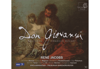 Rene Jacobs - Don Giovanni - (CD)