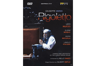 VARIOUS, Chorus & Orchestra Of The Zurich Opera House - Leo Nucci - Rigoletto - (DVD)