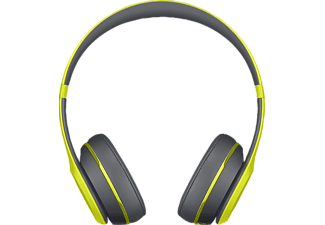 BEATS SOLO 2 WIRELESS ACTIVE, On-ear Kopfhörer, Bluetooth, Gelb