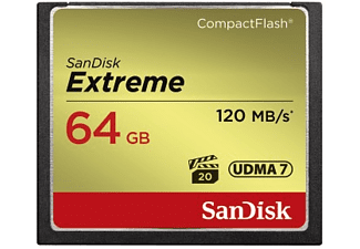 SANDISK CF Extreme 64GB 120MB/s
