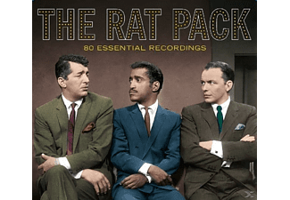 The Rat Pack - 80 Essential Recordings [CD]