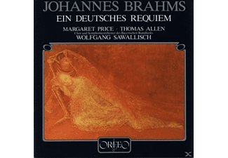 Allen Thomas - Ein deutsches Requiem op.45 - (CD)