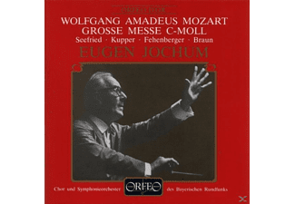 Seefried, Kupper, Fehenberger, Baaun - GROSSE MESSE C-MOLL KV 427 - (CD)
