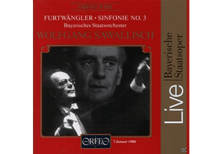 Bayerisches Staatsorchester - SYMPHONIE NR. 3: LIVE RECORDING 198 - (CD)