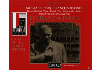 Hilde Zadek - Saint Francois d'Assise - (CD)
