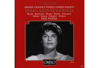 Irmgard Seefried - Lieder:She never told her love/Ich liebe dich/+ - (CD)