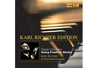 Karl Richter, Kammerorchester Karl Richter - Orgelkonzerte - (CD)
