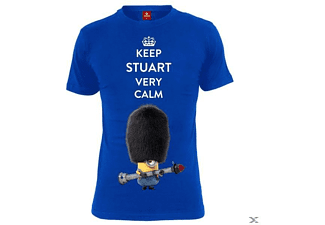 Keep Stuart Calm (Shirt L/Blue)