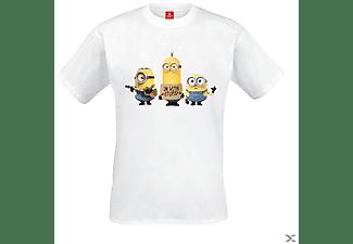Minions - Stuart, Dave, Bob (Shirt S/White)