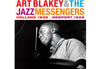 Art Blakey and the Jazz Messengers - Holland 1958/Newport 1959 - (CD)