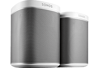 sonos play 1 2 room starter set wei audio streaming kaufen bei saturn. Black Bedroom Furniture Sets. Home Design Ideas