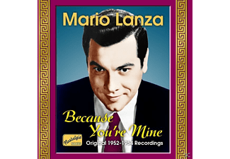 Mario Lanza - Because You're Mine - (CD)