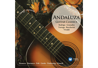 VARIOUS - ANDALUZA-GUITAR CLASSICS - (CD)