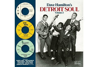 VARIOUS - Dave Hamiltons Detroit Soul Vol.2 - (CD)
