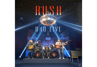 Rush R40 Live CD+BD CD + Blu-ray Disc