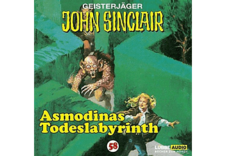 John Sinclair 58: Asmodinas Todeslabyrinth (Teil 2/2) - 1 CD - Horror