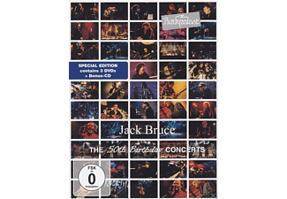 Jack Bruce - The 50th Birthday Concerts - (DVD + CD)
