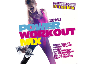 VARIOUS - Power Workout Mix 2016.1 - (CD)