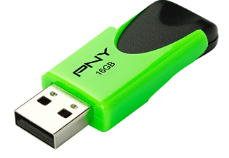 PNY FD16GATT4NEOKGR-EF ATTACHE 4, USB-Stick, 16 GB