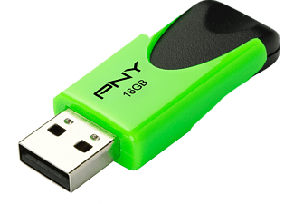 PNY FD16GATT4NEOKGR-EF ATTACHE 4, USB-Stick, USB 2.0, USB 2.0, 16 GB