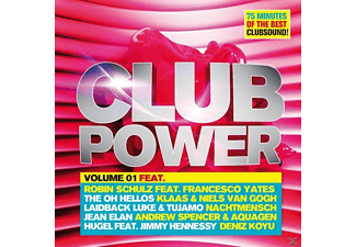 VARIOUS - Club Power Vol.1 [CD]