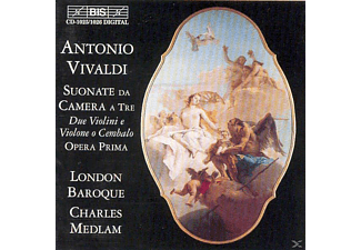 London Baroque: Charles Medlam - Triosonaten op.1/+ - (CD)