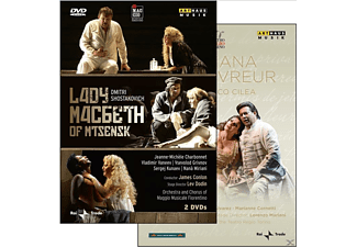 VARIOUS - Lady Macbeth Of Mtsensk/Adriana Lecouvreur - (DVD)