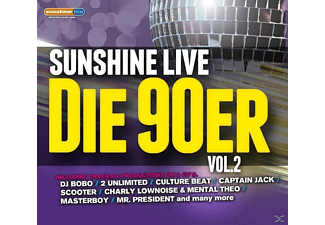 VARIOUS - Sunshine Live-Die 90er Vol.2 - (CD)